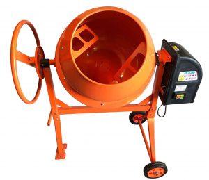 550W 140L Drum Portable Electric Concrete Cement Mixer Mortar Plaster
